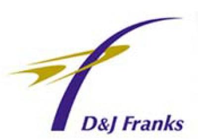 D & J Franks logo